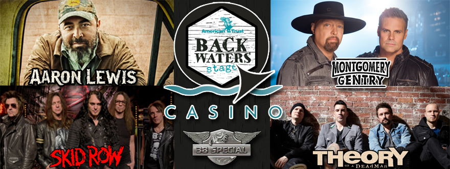 Q Casino Back Water Stage Concert Series